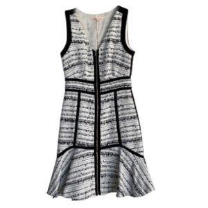 NWT Rebecca Taylor Raffia Tweed dress size 6